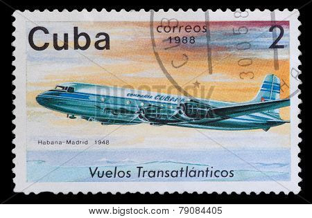 Stamp Printed In The Cuba