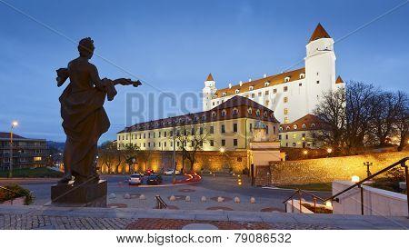 Bratislava castle, Slovakia.