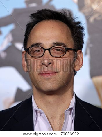 LOS ANGELES - FEB 16:  DAVID WAIN arrives to the