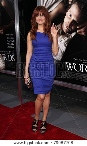 LOS ANGELES - SEP 12:  Debby Ryan arrives to the