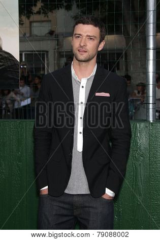 LOS ANGELES - SEP 19:  Justin Timberlake arrives to