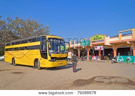 Indiian Intercity Bus