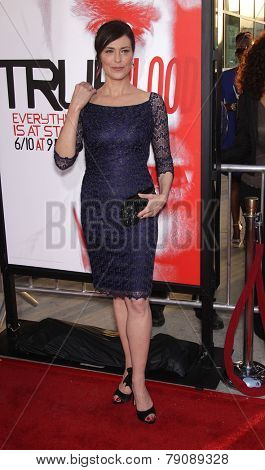 LOS ANGELES - MAY 30:  MICHELLE FORBES arrives to
