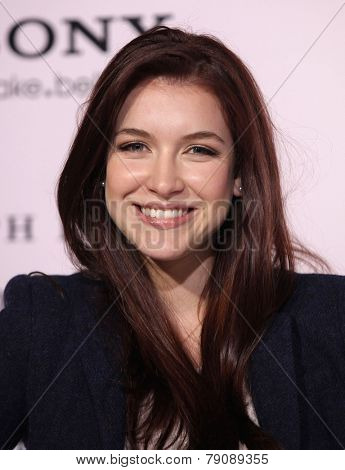 LOS ANGELES - FEB 06:  NATHALIA RAMOS arrives to the 'The Vow' World Premiere  on February 06, 2012 in Hollywood, CA