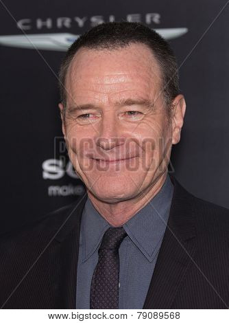 LOS ANGELES - AUG 01:  Bryan Cranston arrives to