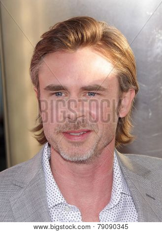 LOS ANGELES - MAY 30:  SAM TRAMMELL arrives to
