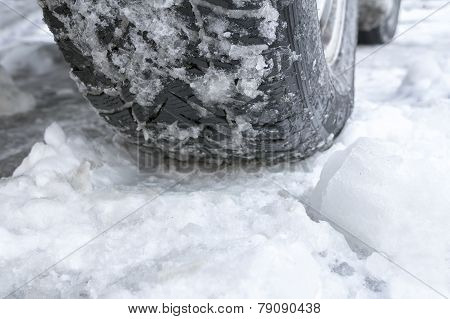 Winter Tyres Of A Cars