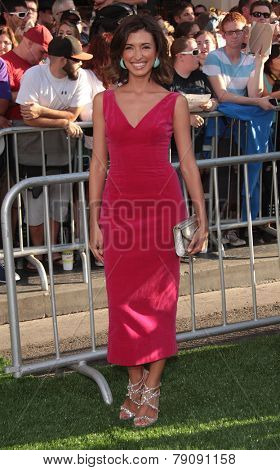 LOS ANGELES - AUG 06:  India de Beaufort arrives to