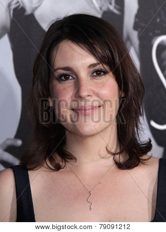 LOS ANGELES - FEB 08:  MELANIE LYNSKEY arrives to the