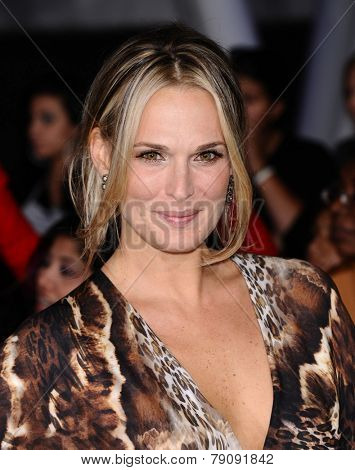 LOS ANGELES - NOV 11:  Molly Sims arrives to the
