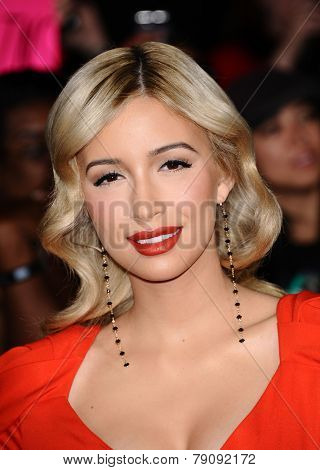 LOS ANGELES - NOV 11:  Christian Serratos arrives to the