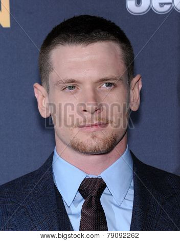 LOS ANGELES - DEC 15:  Jack O'Connell arrives to the