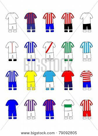 Spanish League Clubs Kits 2013-14