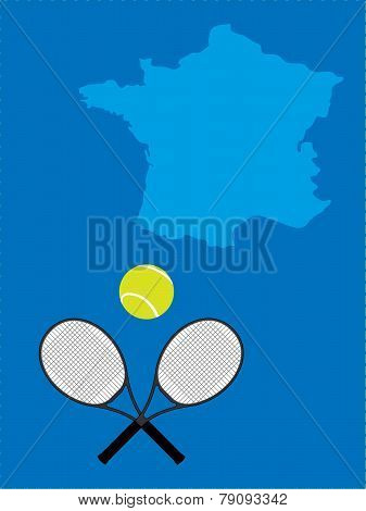 Tennis Map United France