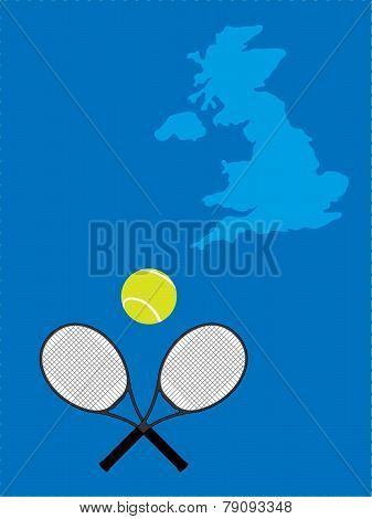 Tennis Map United Kingdom