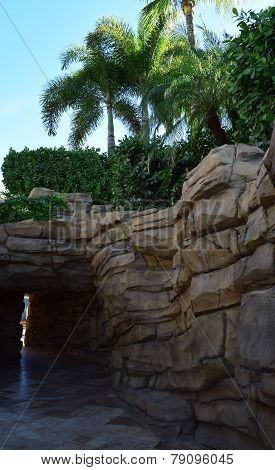 Hard Rock Pool Walkway