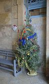 picture of crusader  - Christmas tree to the abbey church of St - JPG