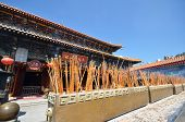 picture of sinful  - Wong Tai Sin Temple is very famous tourist spot in Hong Kong - JPG