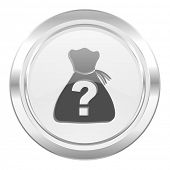 picture of riddles  - riddle metallic icon   - JPG