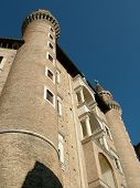 picture of masterpiece  - Turrets of the Palazzo Ducale in Urbino - JPG