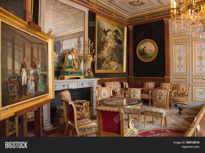 Chateau de malmaison interior the image for Interieur francais