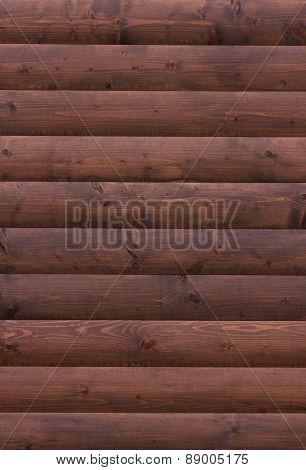 Wooden Advertisement Wall