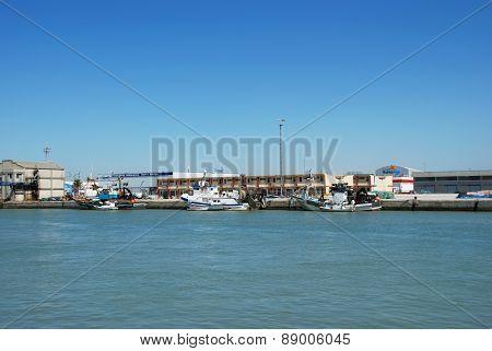 El Puerto de Santa Maria Harbour.