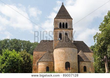 Church in Saint-Léon-sur-Vezere