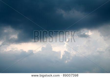 Rainy Cloudy Sky
