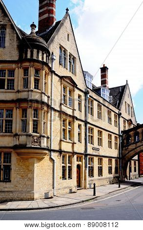 Hertford College, Oxford.