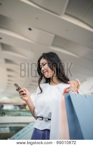 Reading text message