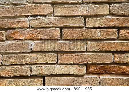 Weathered Stone Wall, Textured Background