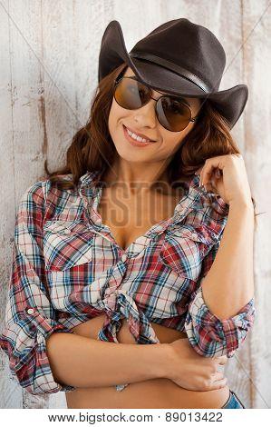Cute Cowgirl.