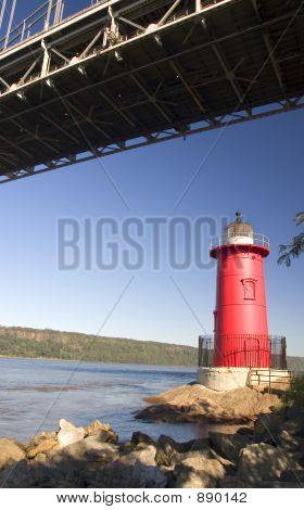 The Little Red Lighthouse