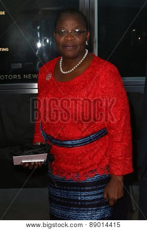 NEW YORK-APR 21: Nigerian chartered accountant Obiageli Ezekwesili attends the 2015 Time 100 Gala at Frederick P. Rose Hall, Jazz at Lincoln Center on April 21, 2015 in New York City.