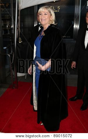 NEW YORK-APR 21: French politician and president of Front National Marine Le Pen attends the 2015 Time 100 Gala at Frederick P. Rose Hall, Jazz at Lincoln Center on April 21, 2015 in New York City.