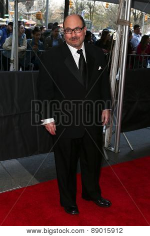NEW YORK-APR 21: Craigslist founder Craig Newmark attends the 2015 Time 100 Gala at Frederick P. Rose Hall, Jazz at Lincoln Center on April 21, 2015 in New York City.