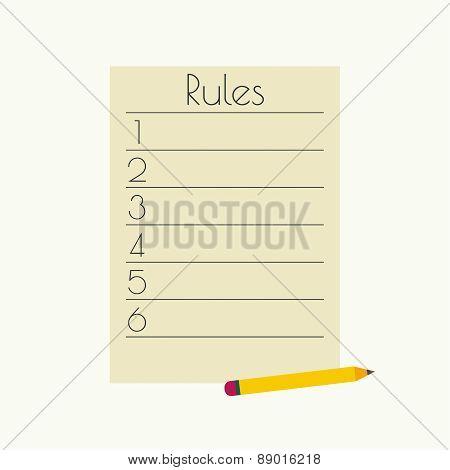 Rule list