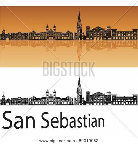 San Sebastian Skyline