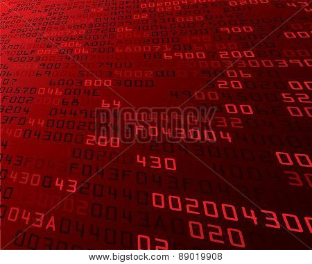 Vector illustration of security background