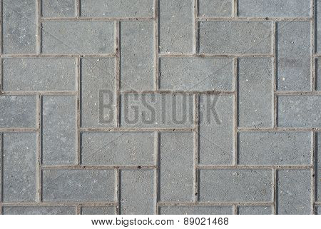 Abstract paving slab