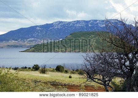 Lac De Salagou, France