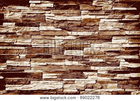 Background of stone texture - vector illustration