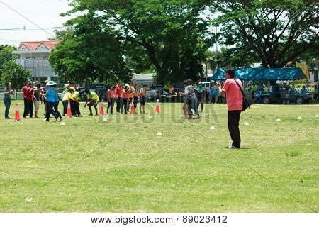 People Are Playing Traditional Sports