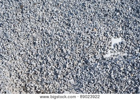 Abstract texture background with small stones