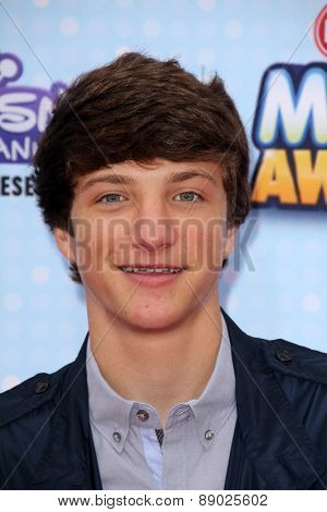 LOS ANGELES - FEB 25:  Jake Short at the Radio DIsney Music Awards 2015 at the Nokia Theater on April 25, 2015 in Los Angeles, CA