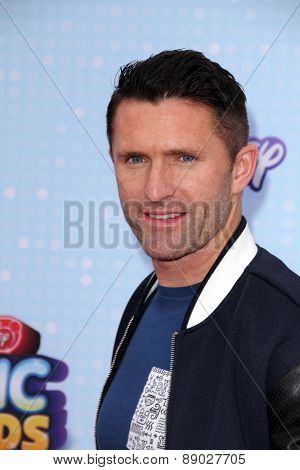 LOS ANGELES - APR 25:  Robbie Keane at the Radio DIsney Music Awards 2015 at the Nokia Theater on April 25, 2015 in Los Angeles, CA