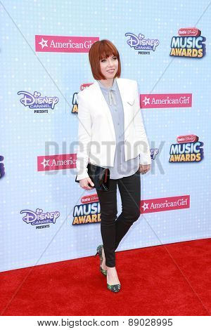 LOS ANGELES - APR 25:  Carly Rae Jepsen at the Radio DIsney Music Awards 2015 at the Nokia Theater on April 25, 2015 in Los Angeles, CA