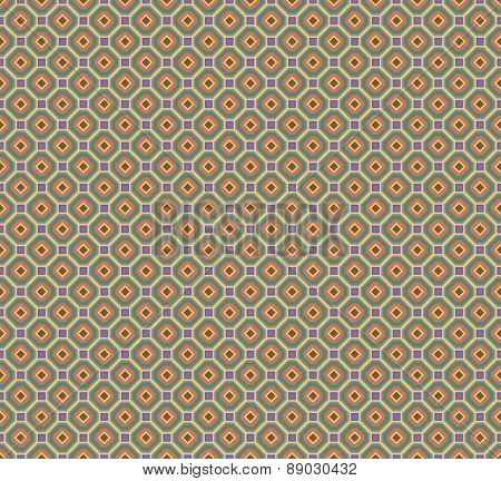 Abstract Seamless Fabric Retro Pattern