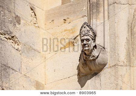 Bishop On Wall